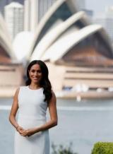 Меган Марк беременна: первые фотографии герцогини