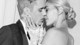 Странная деталь в свадебном платье Хейли Болдуин