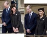 Элегантная Кейт Миддлтон накануне родов посетила Пасхальную службу